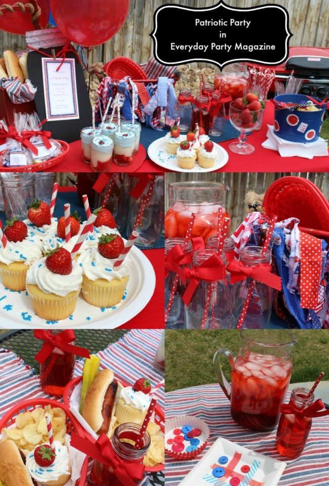 Patriotic Party In Everyday Party Magazine
