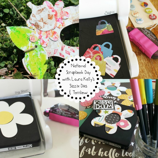 Sizzix for NSD Tombow USA Brand Ambassador Collage