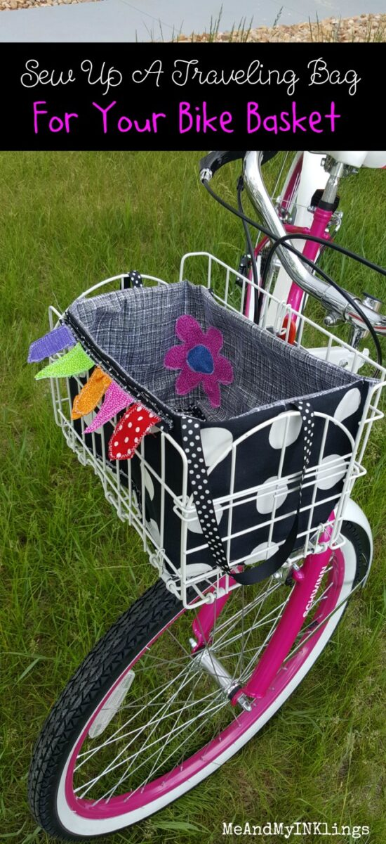 Traveling Bag For Bike Basket