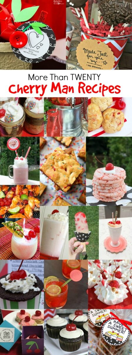 Cherry Man Recipes LKDT Collage