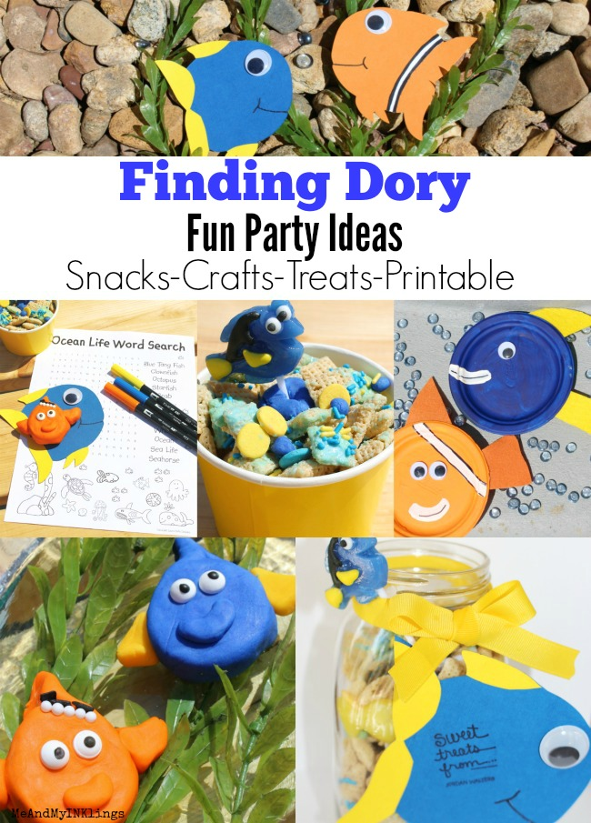 Finding Dory Fun Party Ideas from Laura Kelly