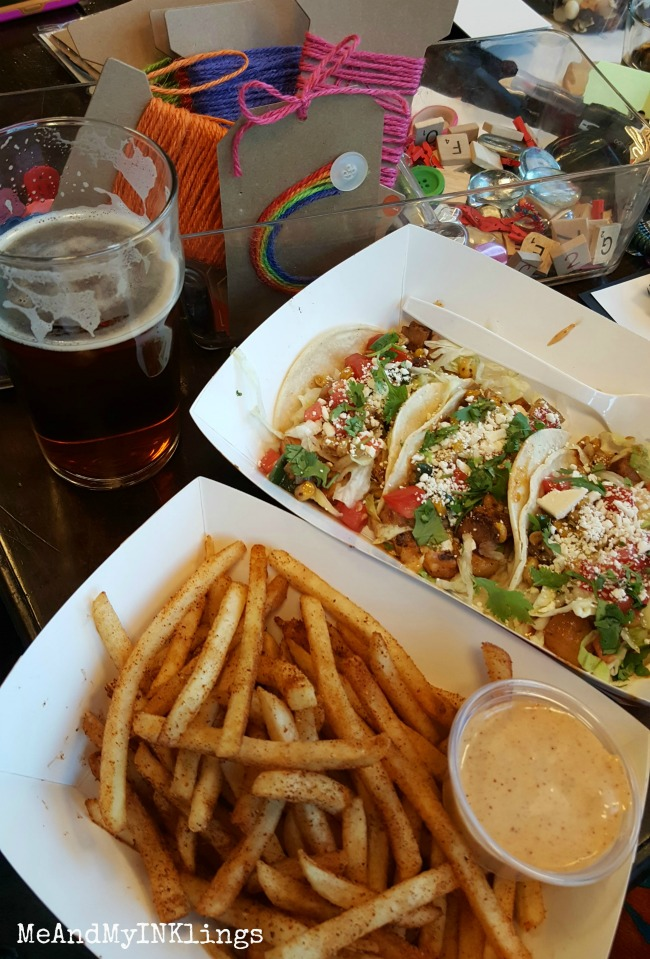 Mile High Cajun Tacos and Fries