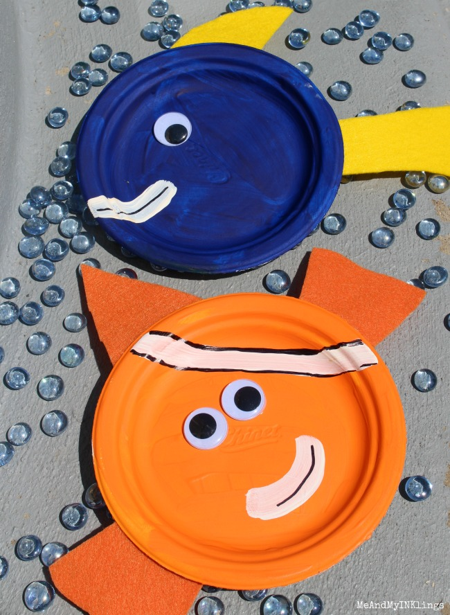 Party ideas for finding dory for Finding dory crafts for preschoolers
