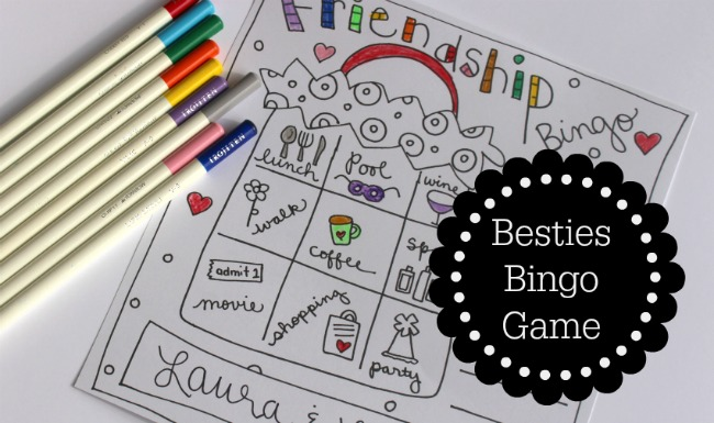 Besties Bingo Game