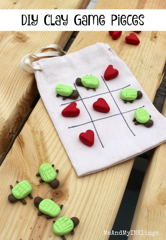 DIY Clay Game Pieces