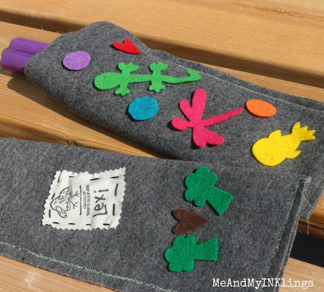 Felt Bags for Lummi Sticks