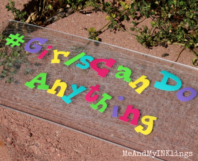 GirlsCanDoAnything Vinyl Letters