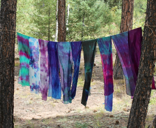 Housewife HellraiserTie-Dye-Scarves-on-Line
