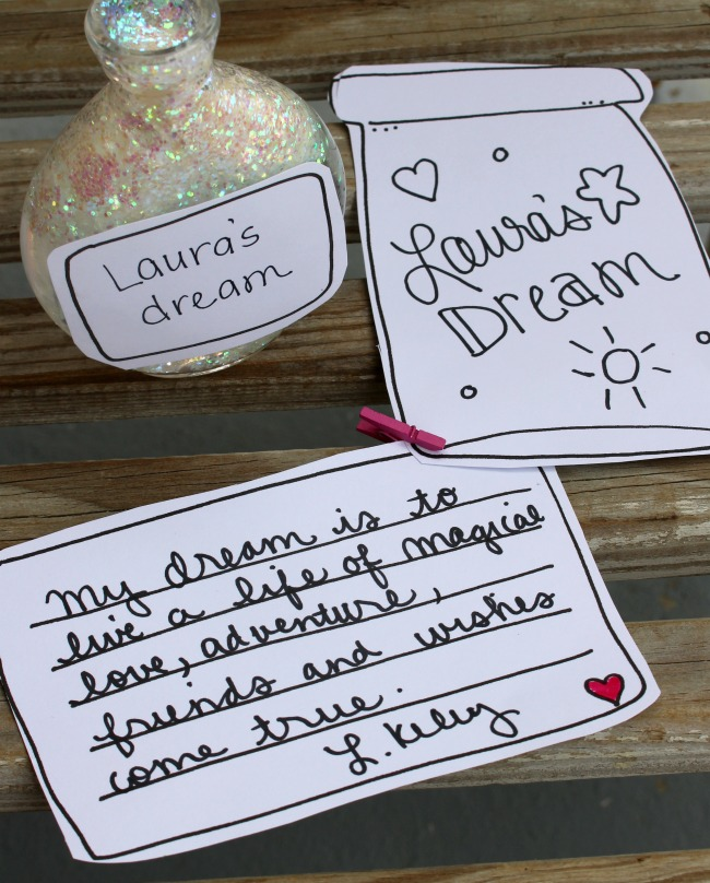 Lauras Dream Printable for The BFG