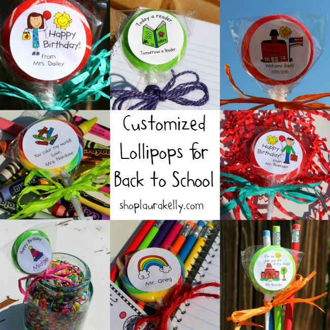 Lollipops for Back To School ShopLauraKelly