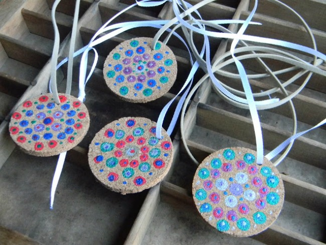 Paint Dot Pendant