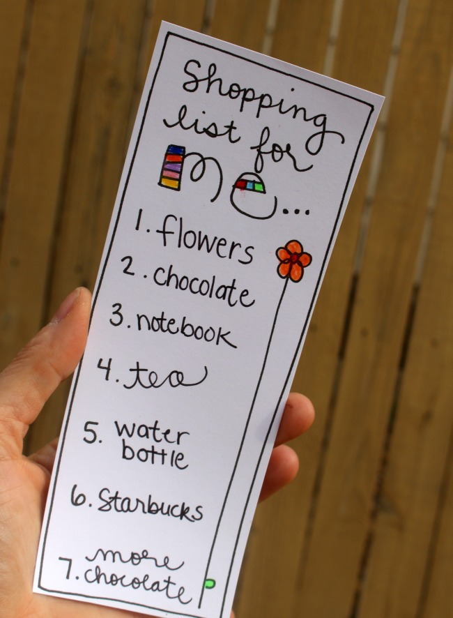 Shopping List for ME