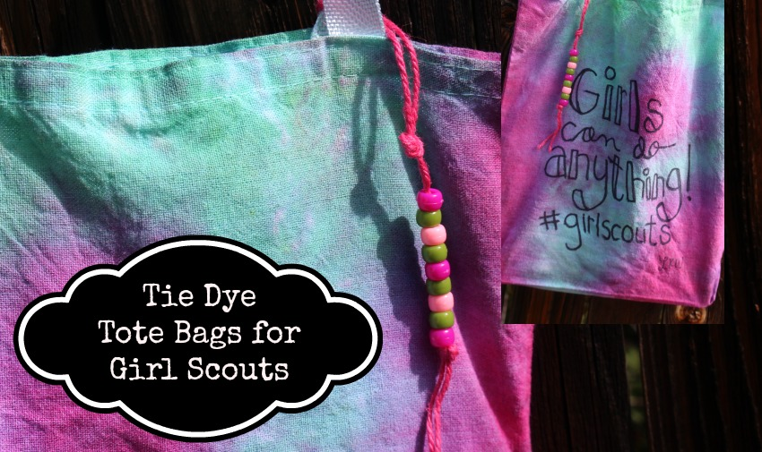 192b8da3e Tie Dyed Girl Scout Bags - Laura Kelly's Inklings