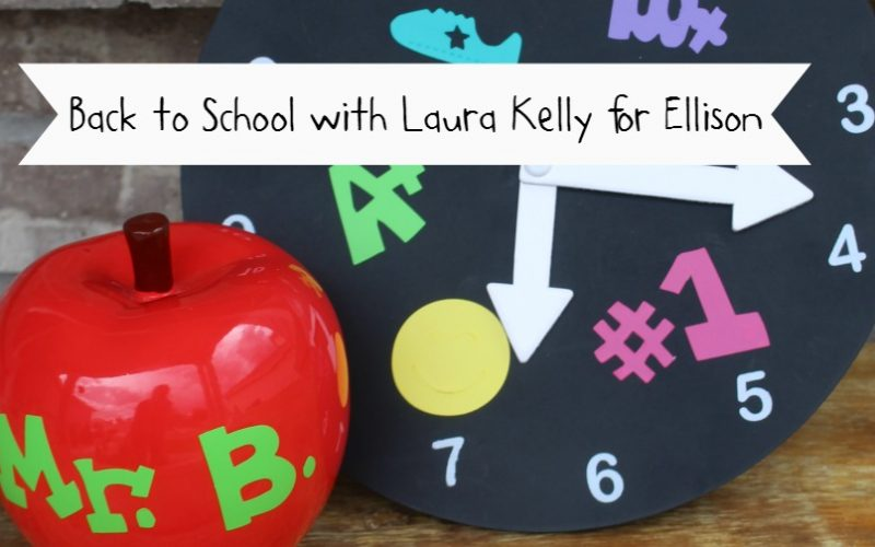 The Laura Kelly Design Team's Back to School with Ellison Series