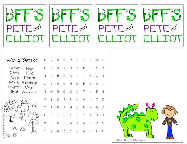 Pete and Elliot Printable