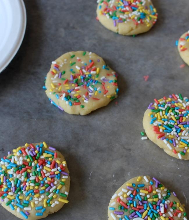 Unbaked Sugar Cookies