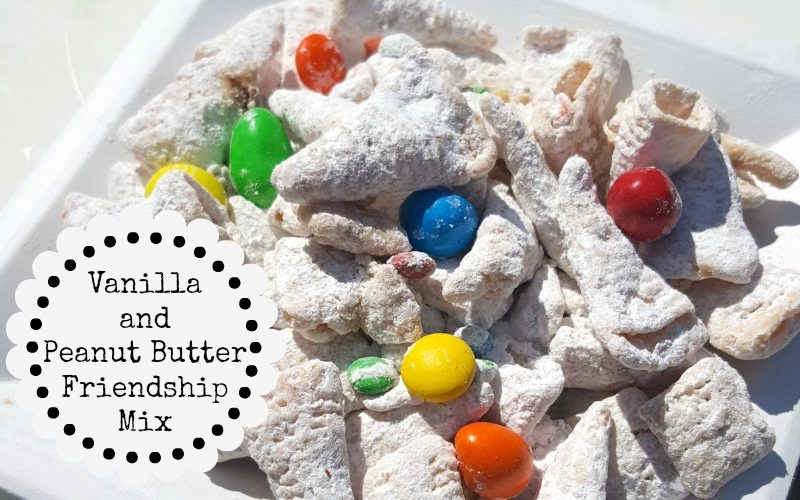 Vanilla and Peanut Butter Friendship Mix