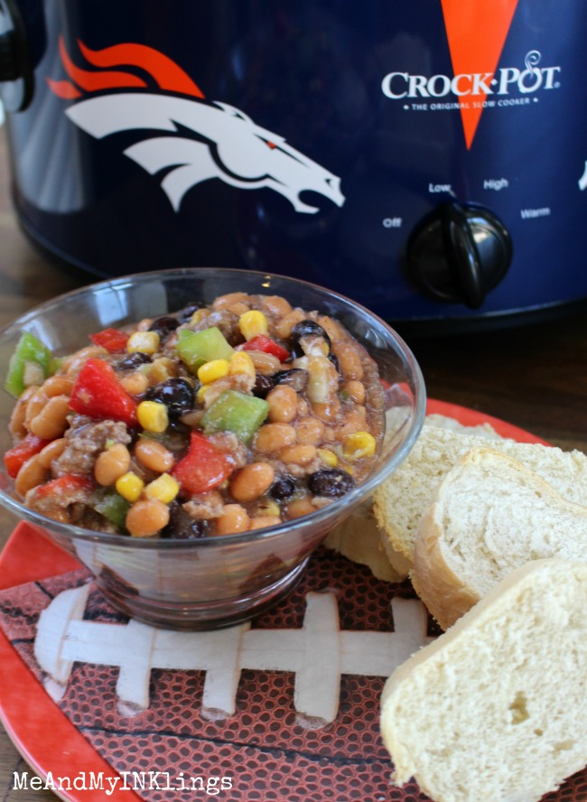 Broncos Beans in Bowl