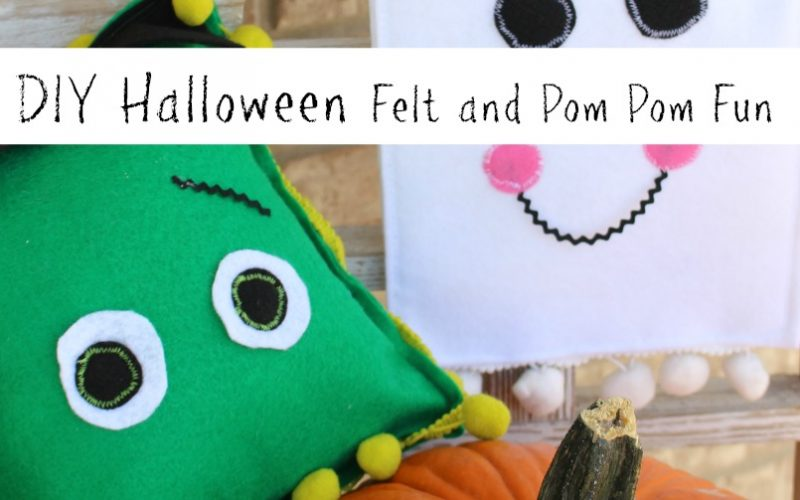Fall Party Fun with Felt and Pom Pom Trims