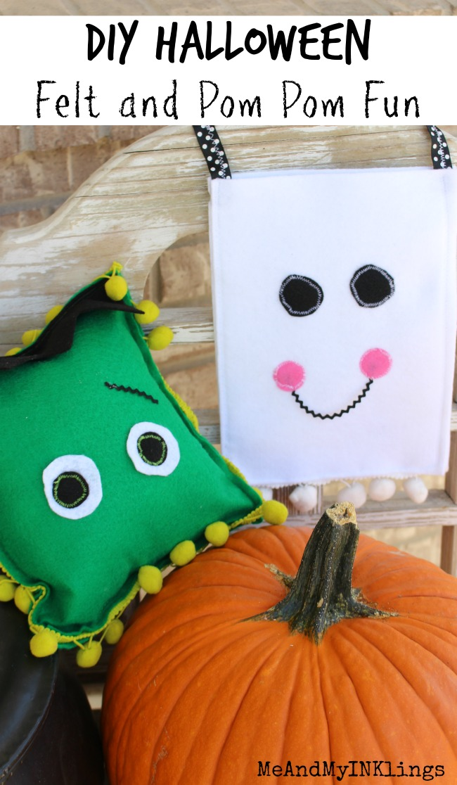 DIY Halloween Felt Creations