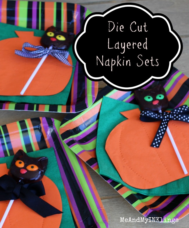 Die Cut Layered Napkin Sets
