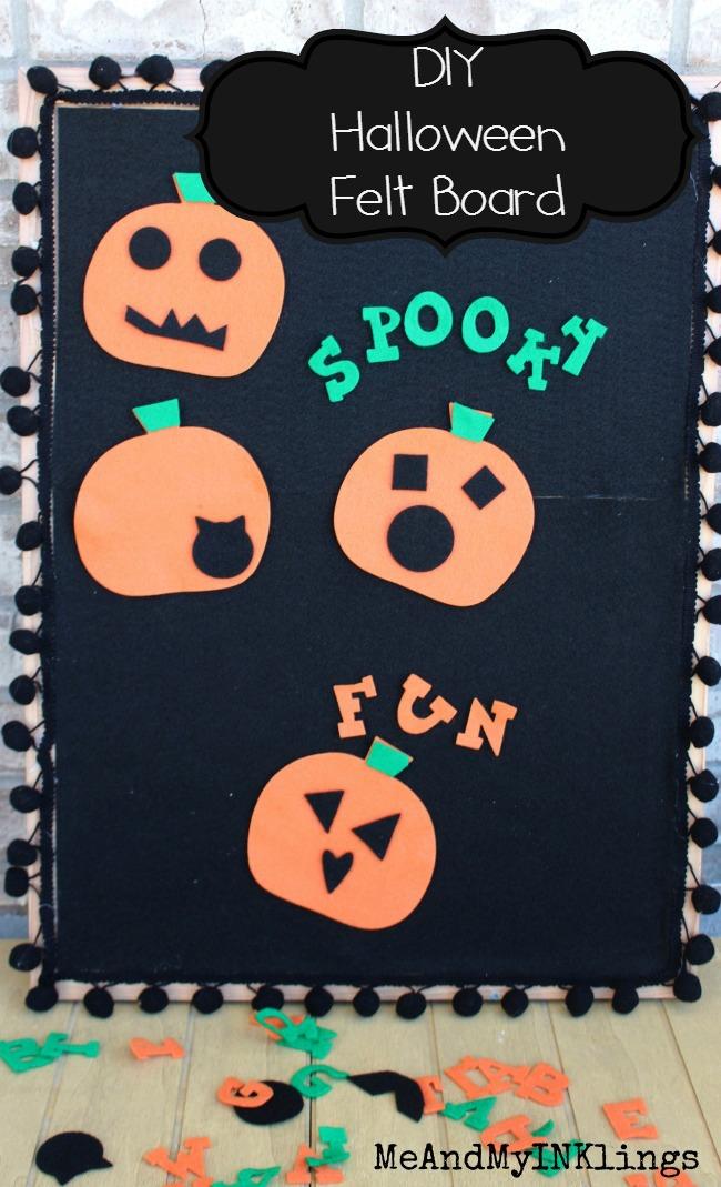Felt Board Ellison Pumpkins and Lemonade Alphabet Tall