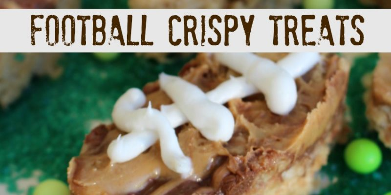 Football Krispy Treats