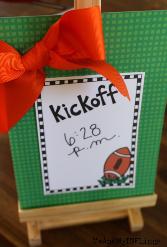 Kick Off Sign