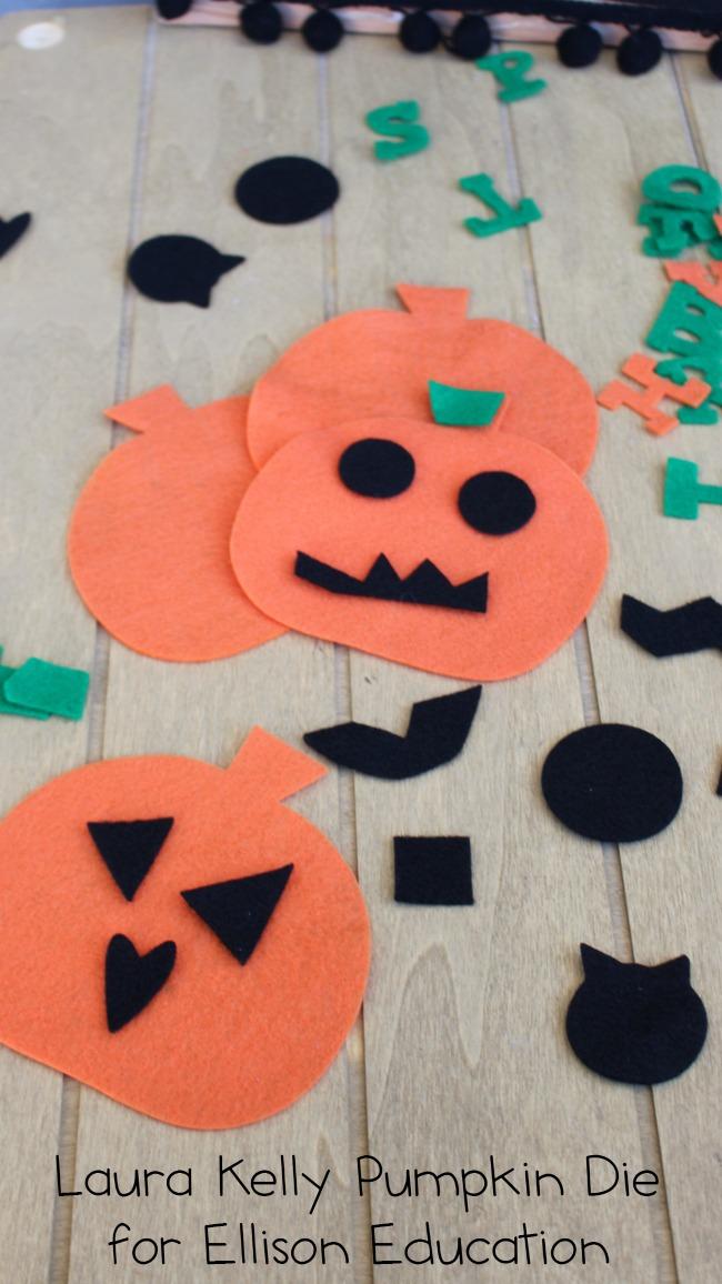 Laura Kelly Pumpkin Die for Ellison Education