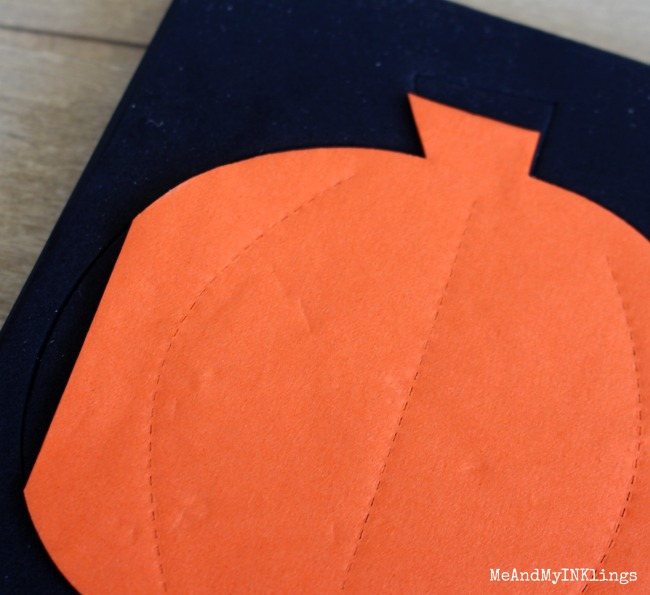 Pumpkin Die Cut Napkin Placement
