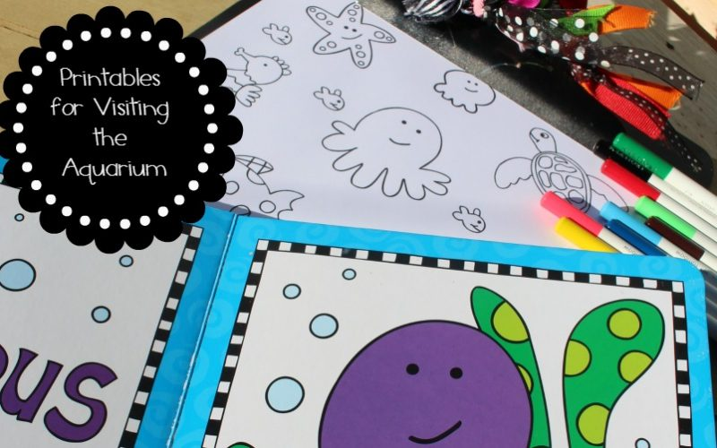 Family Travel Printables for Visiting the Aquarium