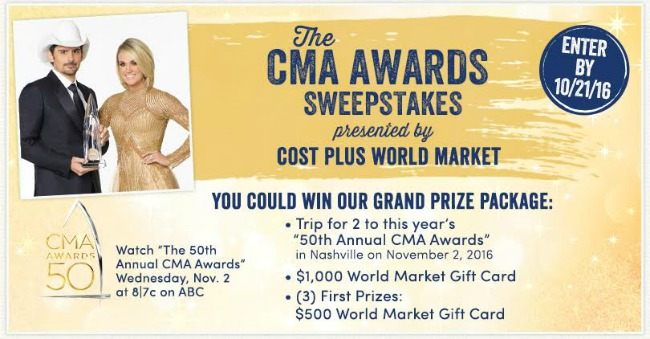 CMA Sweepstakes