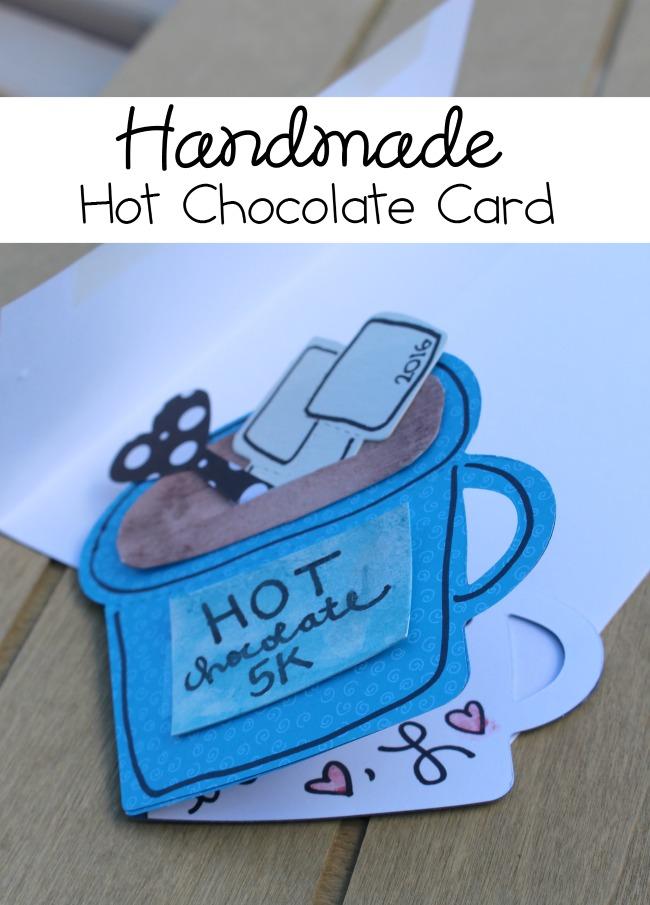 Handmade Hot Chocolate Card