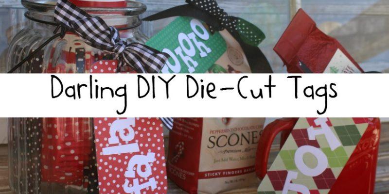 Darling DIY Die Cut Tags Label