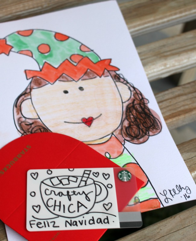Starbucks DIY Card Crafty Chica