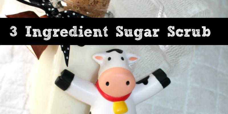 3 INgredient Sugar Scrub