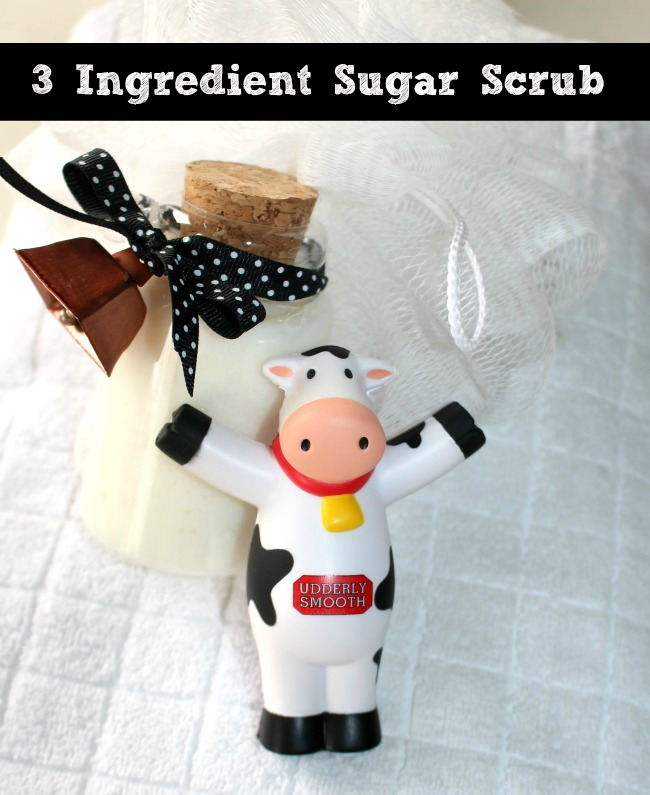 Sugar Scrub with Udderly Smooth