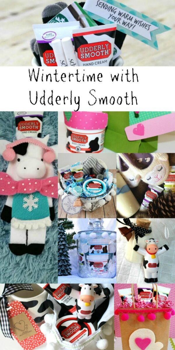 Wintertime Udderly Smooth Collage