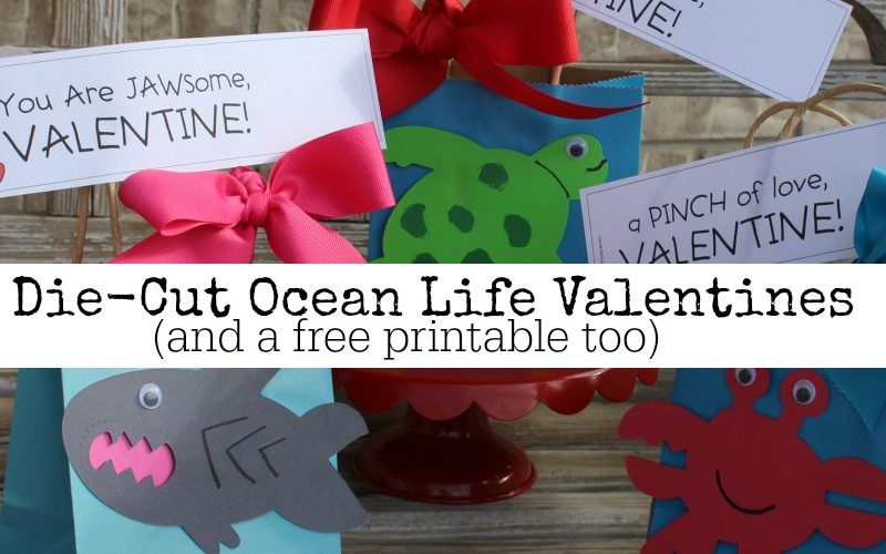 Ocean Life Valentines with Ellison Education