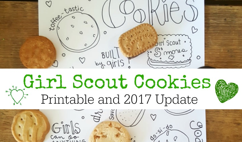 girl scout cookie sales 2017