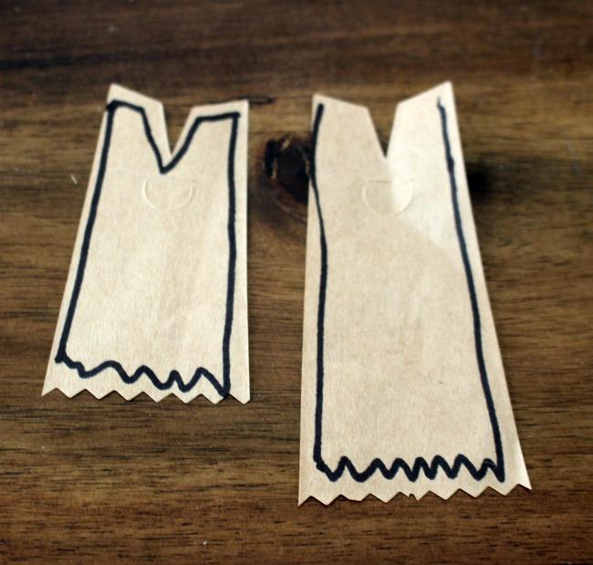 Paper Bag Dresses