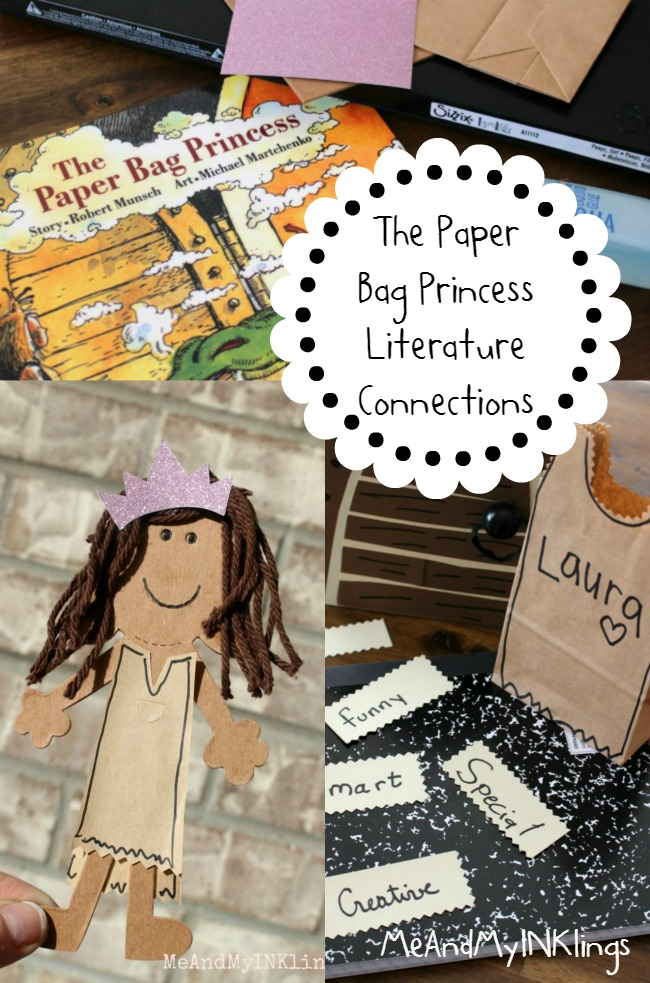 The Paper Bag Princess Literature Connections Collage