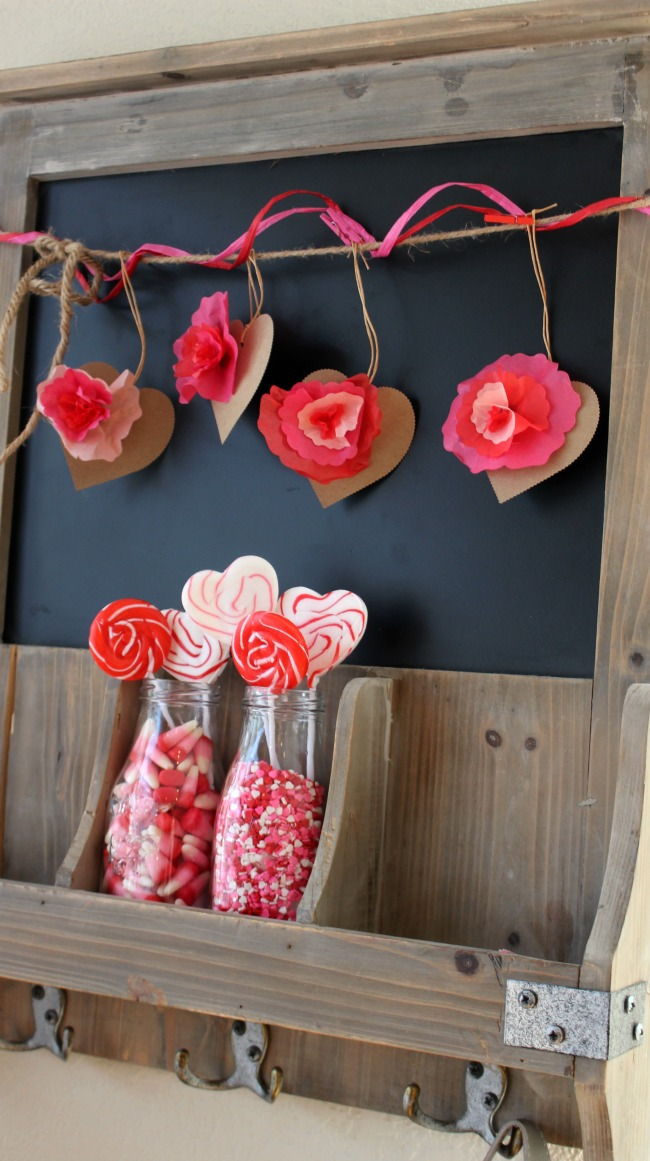 World Market Valentine Chalk Board