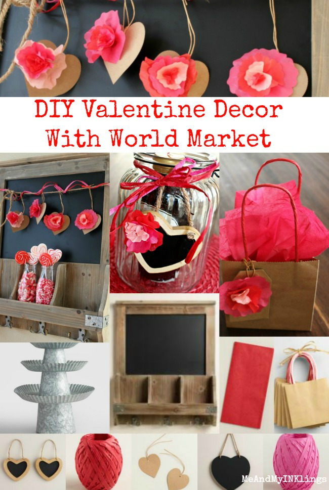 World Market Valentine Collage