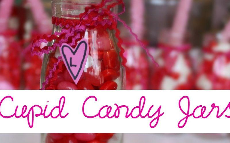 Cupid Candy Jars