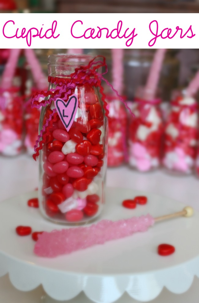 Cupid Candy Jars Label