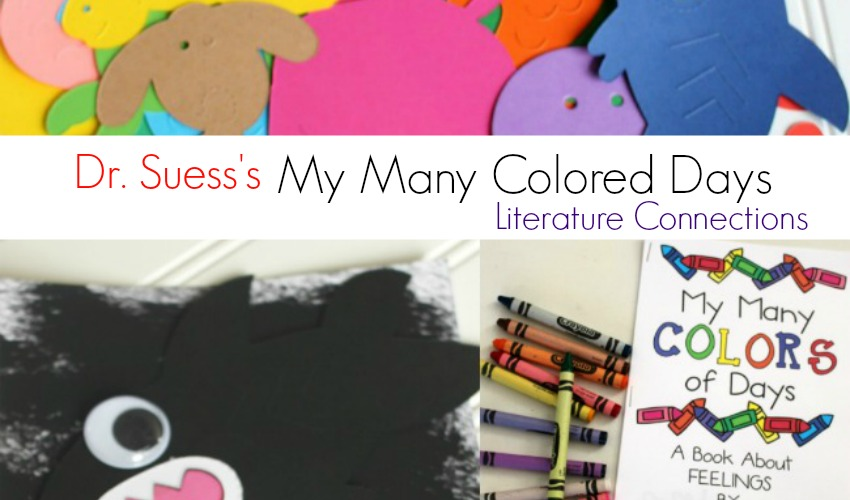 My Many Colored Days Literature Connections