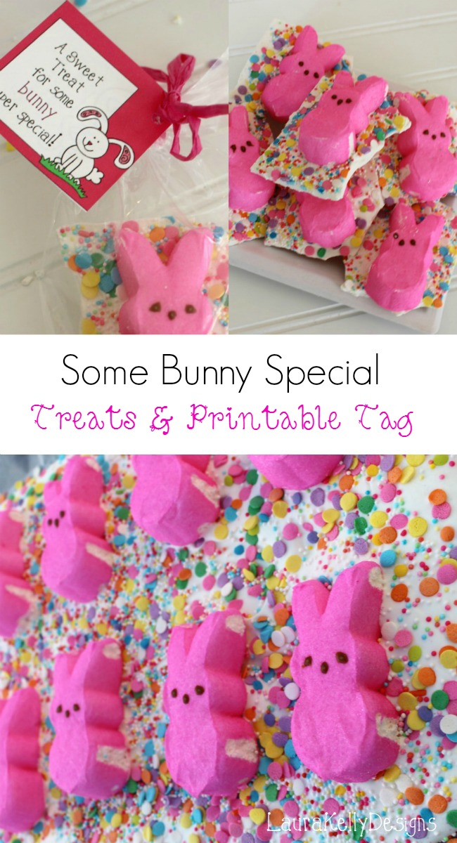 Peeps Easter Candy Bark Treat Bars