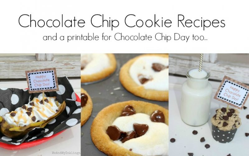 Three Recipes for National Chocolate Chip Day
