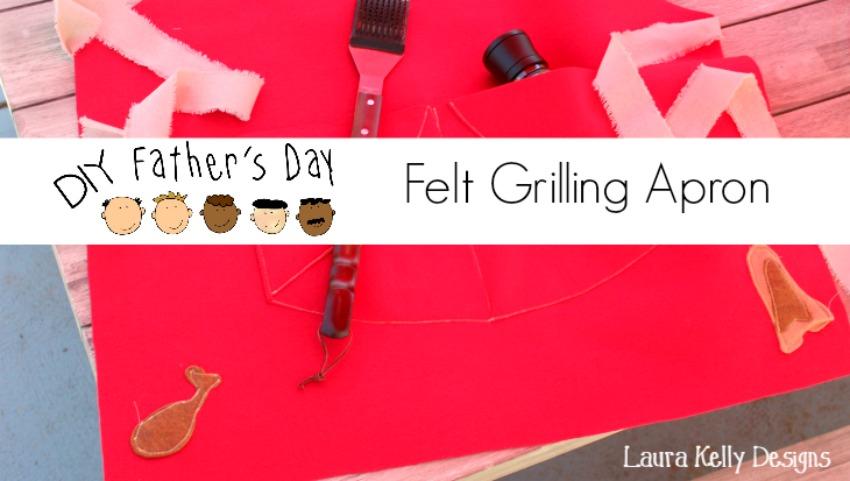 DIY Father's Day Felt Apron